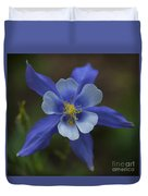 Wild Blue Duvet Cover by Barbara Schultheis