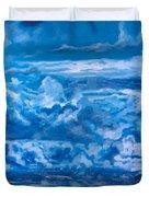 Wild Blue Duvet Cover by Joel Tesch