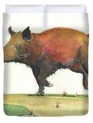 Wild Boar Delgadin Duvet Cover