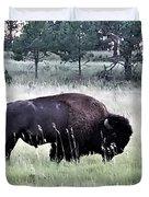 Wild Buffalo Duvet Cover