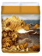 Wild California Coast - Modern Art Duvet Cover