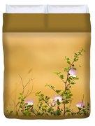 wild caper plant Capparis spinosa Duvet Cover