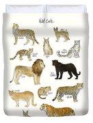 Wild Cats Duvet Cover