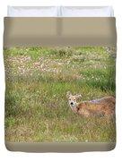Wild Chinese Water Deer  Duvet Cover