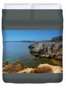 Wild Coast Cyprus Duvet Cover