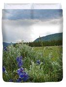 Wild Delphinium Duvet Cover