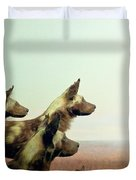 Wild Dog Duvet Cover
