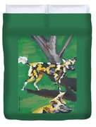 Wild Dogs Duvet Cover