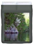 Wild Dogwood Duvet Cover