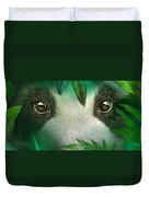 Wild Eyes - Giant Panda Duvet Cover