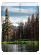 Wild Fire Aftermath  Duvet Cover