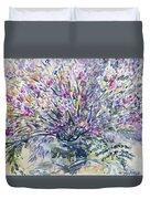 Wild Flowers #4 Duvet Cover
