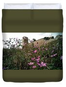 Wild Flowers At The Old Fortress Duvet Cover