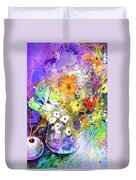 Wild Flowers Bouquet 02 Duvet Cover