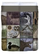 Wild Game Patchwork II Duvet Cover