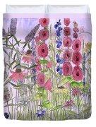 Wild Garden Flowers Duvet Cover