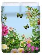 Wild Garden Duvet Cover by Ivana Westin