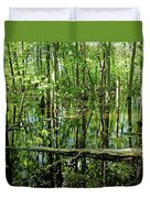 Wild Goose Woods Pond Iv Duvet Cover