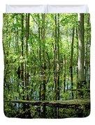 Wild Goose Woods Pond Vii Duvet Cover