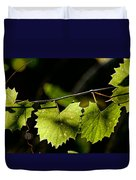Wild Grape Leaves Duvet Cover