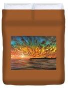 Wild Hearted Sun - Santa Cruz Duvet Cover