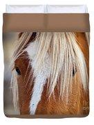 Wild Horses In Wyoming Duvet Cover