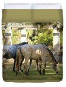 Wild Horses Of Cumberland Duvet Cover