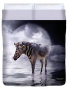 Wild In The Moonlight Duvet Cover