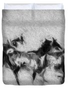 Wild In The Storm Duvet Cover