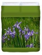 Wild Iris 1 Duvet Cover