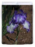 Wild Iris Ridge Duvet Cover