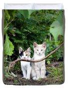 Wild Kats Duvet Cover