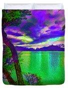 Wild Lake Duvet Cover