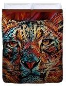 Wild Leopard Duvet Cover