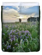 Wild Mints And Foxtail Grasses At Glacial Park Duvet Cover