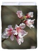 Wild Mountain Blossoms Duvet Cover