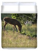 Wild Mountain Lupine Duvet Cover