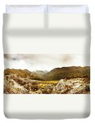 Wild Mountain Terrain Duvet Cover