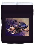 Wild Octopus Duvet Cover