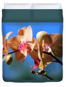 Wild Orchid Duvet Cover