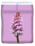 Wild Pink Spotted Orchid Duvet Cover