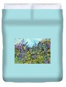 Wild Prairie Lupine Duvet Cover