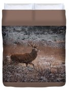Wild Winter Stag Duvet Cover