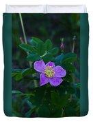 Wild Rose 1 Duvet Cover