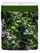 Wild Rose Habitat Duvet Cover