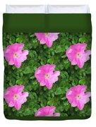 Wild Rose Pattern Duvet Cover