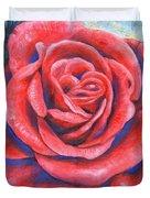 Wild Rose Three Duvet Cover
