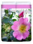 Wild Roses 2 Duvet Cover