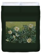 Wild Roses Saint-remy-de-provence, May-june 1889 Vincent Van Gogh 1853 - 1890 Duvet Cover