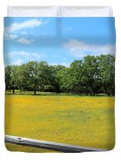 Wild Side Of The Fence Duvet Cover